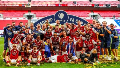 Photo of Arsenal makes it 14th time as FA champions as Auba 14 shines.