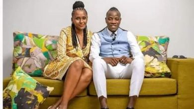 Photo of A Kenyan Gospel artist marries a woman two times older than him? Is this love?