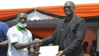 Photo of Luanda Coaches get Class D coaching licences.