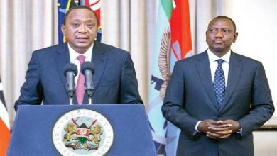 Photo of Uhuru's state of the nation address was a script from a poorly pirated 1968 script by Martin