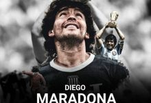 Photo of rest in peace legend Diego 1960-2020