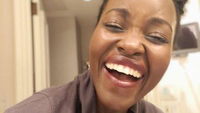 Photo of Lupita Nyong'o laughs at Tourism minister Najib Balala