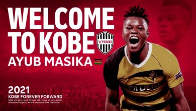 Photo of Harambee stars winger Ayub Timbe signs for Vissel Kobe of Japan.