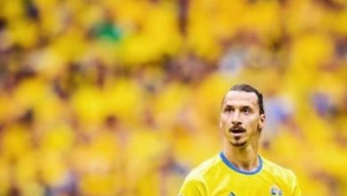 Photo of 40-year-old Zlatan Ibrahimovic declares he is a god as he makes his return to the Swedish national team.