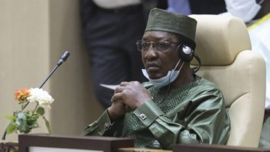 Photo of Newly re-elected President Idriss Déby of Chad has died