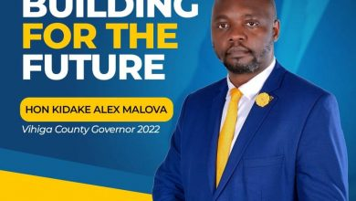 Photo of Alex Kidake: Our county government of Vihiga has become incompetent, unresponsive, and corrupt the time for change is now.