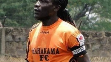 Photo of Former Soccer Star Zablon Amanaka died of a heart condition.