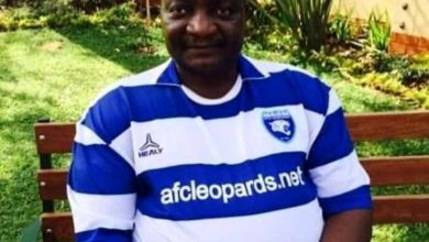 """Photo of 'Ole Magelo's death has dealt a big blow to the footballing fraternity"""" Hon Stazo Omung'ala."""