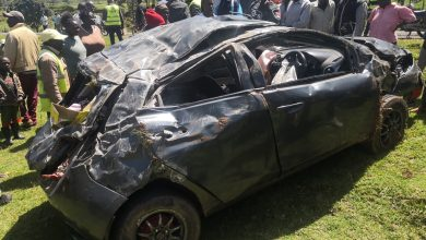 Photo of Thank you, God for saving my life and that of my family,: Harambee stars Keeper Patrick Matasi.